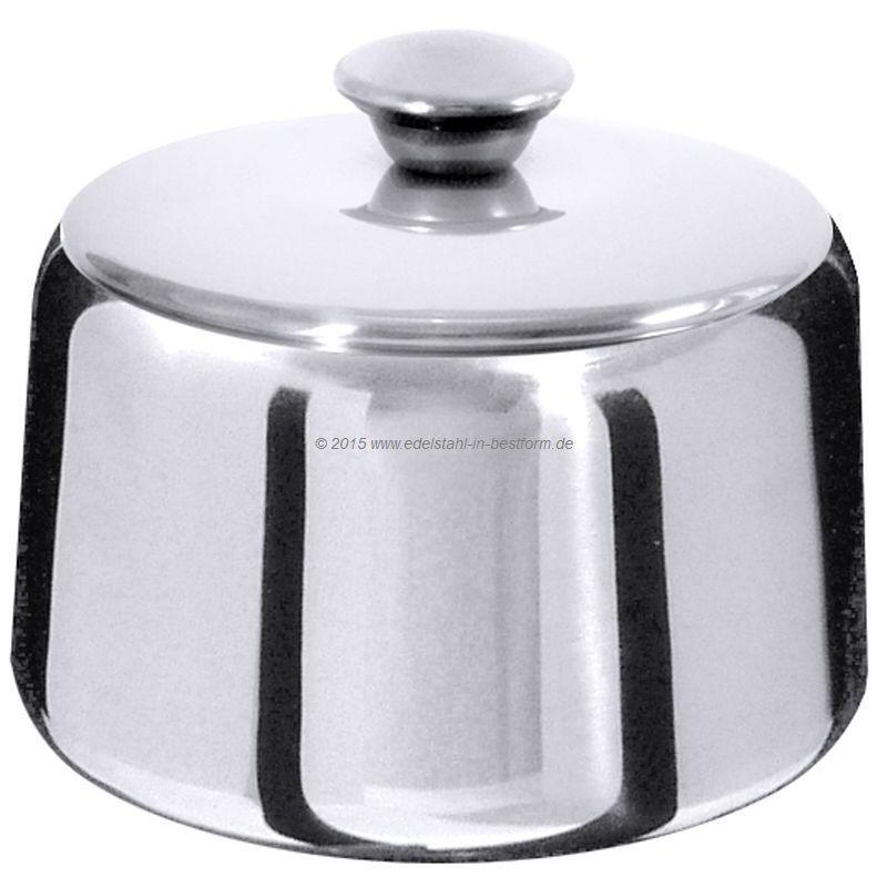 Zuckerdose mit  Deckel vom Fachversand für Gastronomiebedarf / Küchenbedarf