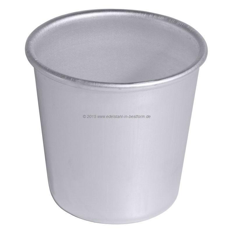 schwere Qualität 100 ml Inhalt Dariolform aus Edelstahl