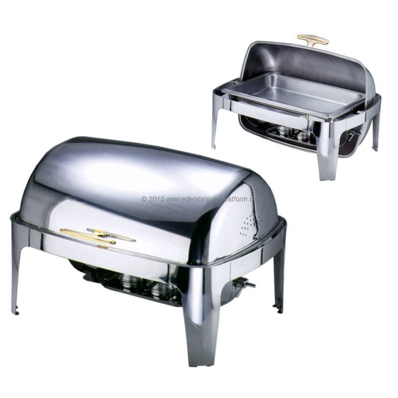 Chafing - Dish / Chafing Dish mit Roll Top